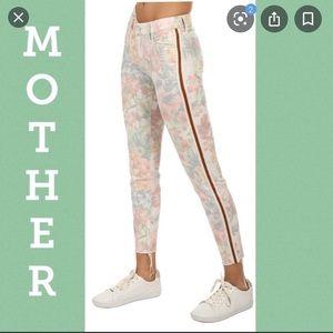 NWOT Mother Looker Frayed Jeans